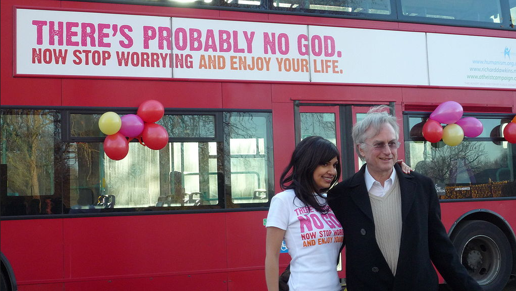 "Richard Dawkins Apologizes for ""Hostility"" Toward Christians"