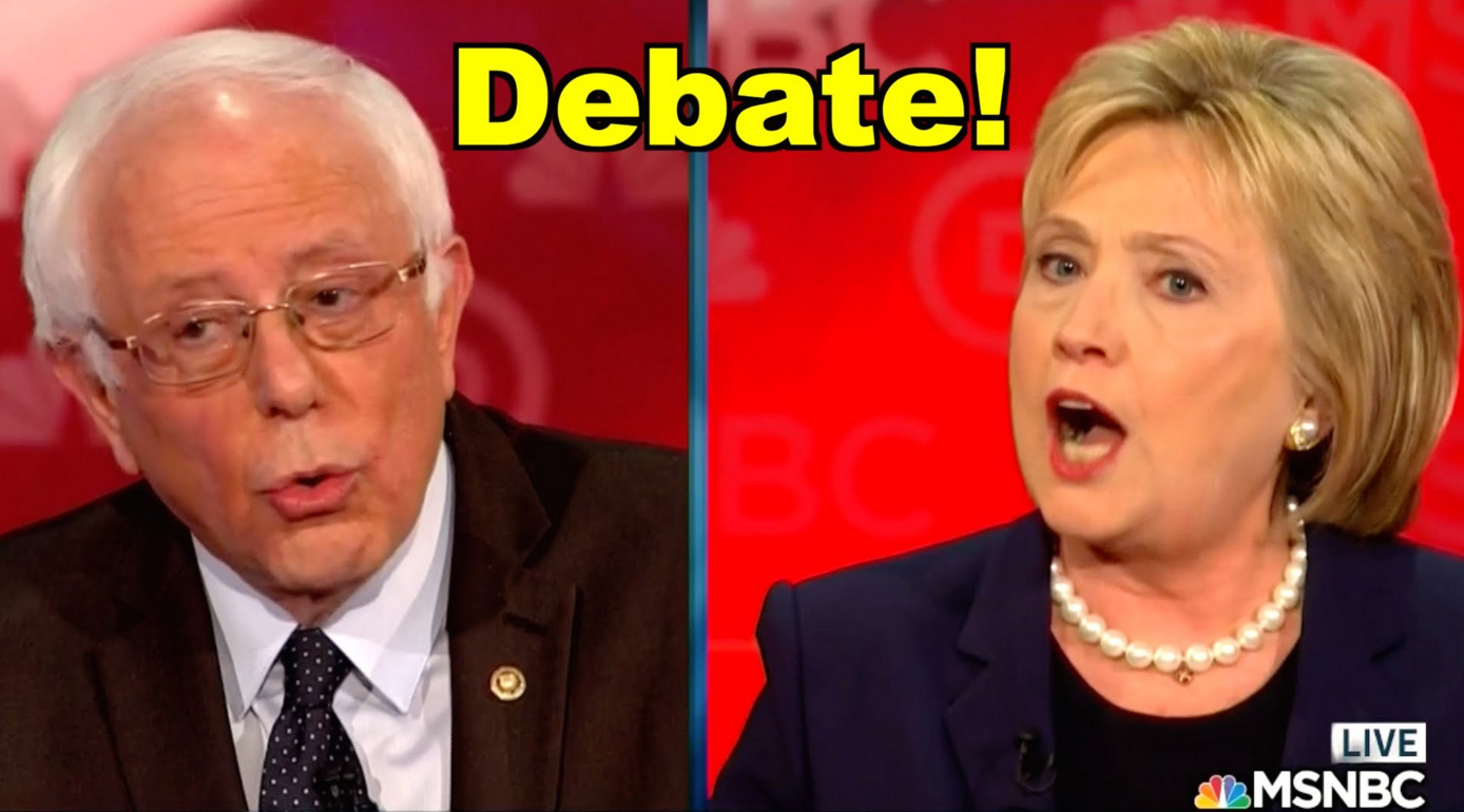 BREAKING: Hillary Clinton Agrees to Debate Bernie Sanders