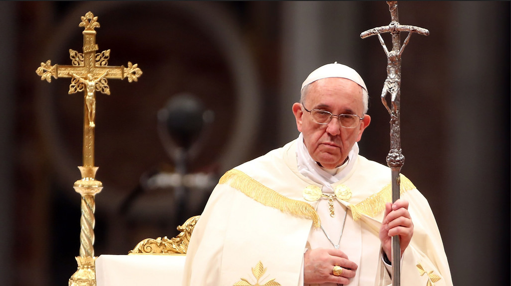 Pope Orders  All 'White Jesus' Figures Removed from Churches