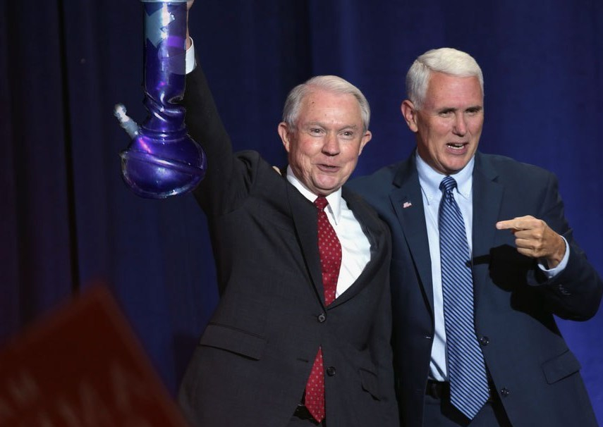 Jeff Sessions is Using Marijuana to Cope With His Job