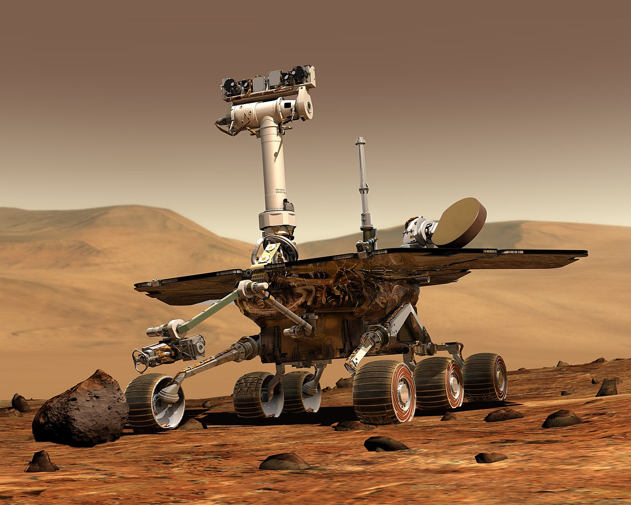 Mars Rover Found Dead From Auto-Erotic Asphyxiation