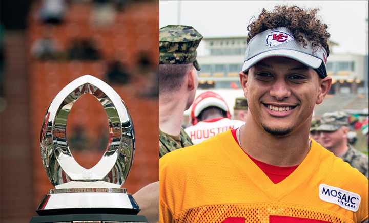 Chiefs QB Patrick Mahomes Gave His MVP Trophy to a Nearby Native American Tribe