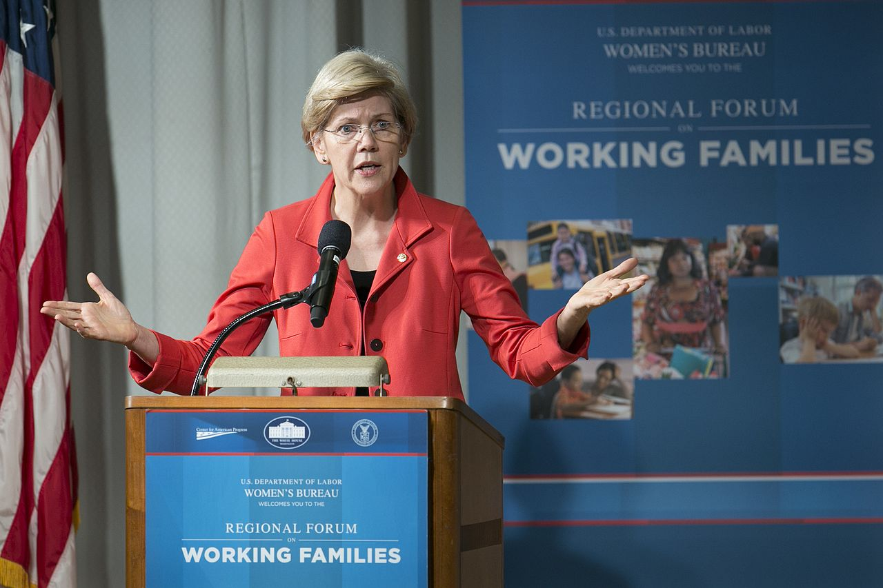 Elizabeth Warren Says She'll Divorce Her Husband and Marry a Woman to Win the Presidency