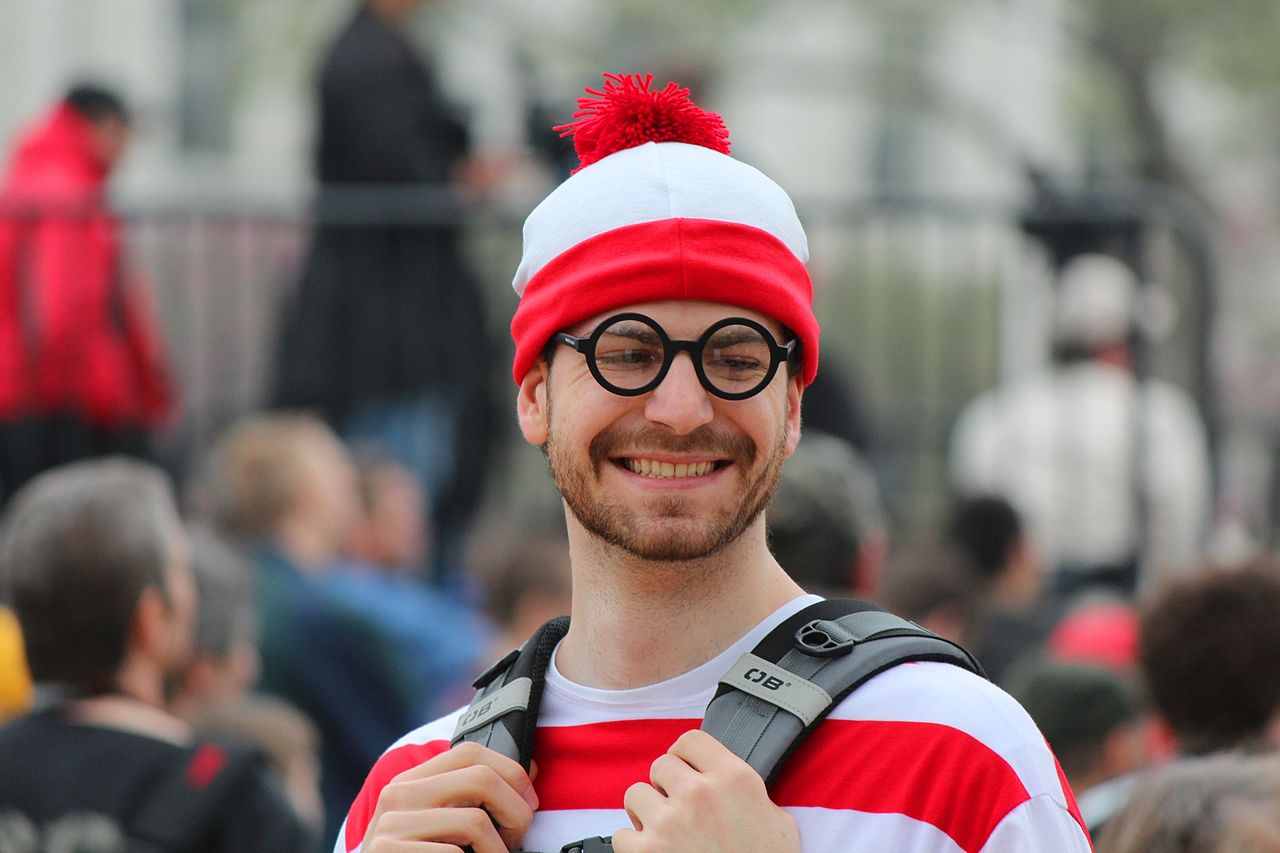 Frustrated Waldo From 'Where's Waldo?' Books Just Wants to Jerk Off in Peace