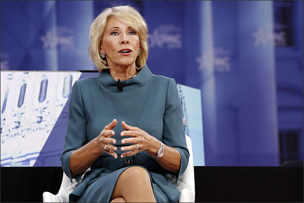 Betsy DeVos Removes 'Appreciation' From National Teacher Appreciation Day