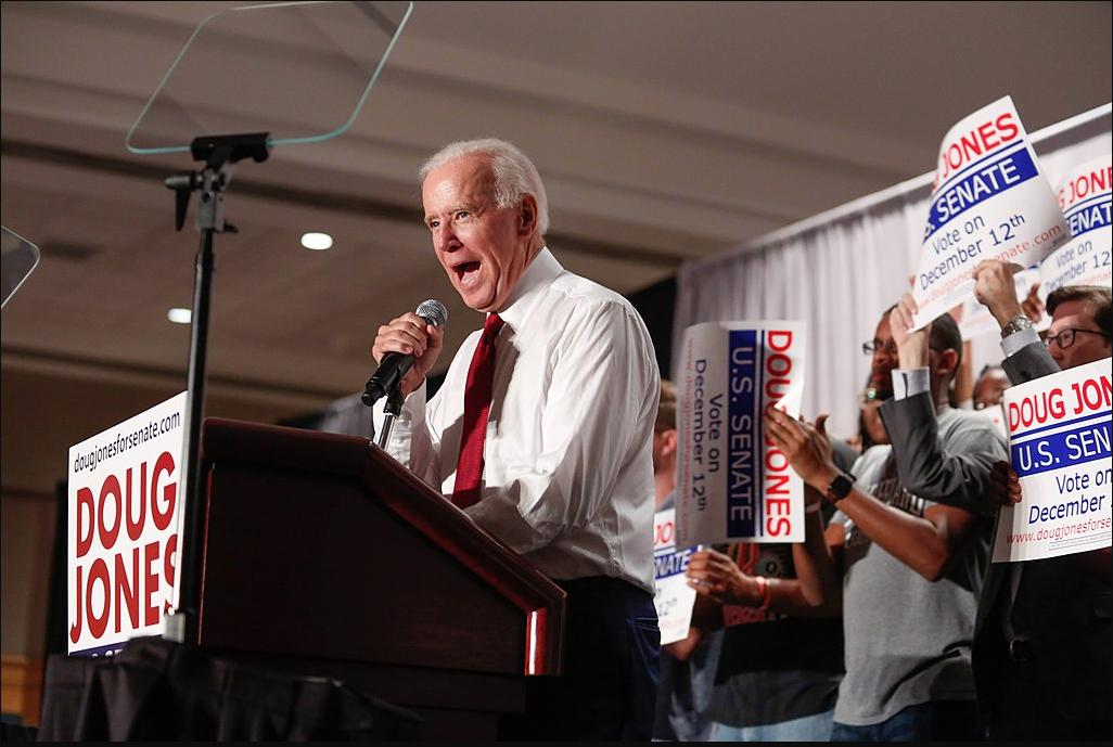 Joe Biden Says Trump's Wig Has 'Overwhelming Scent Of Cocaine and Hairspray'