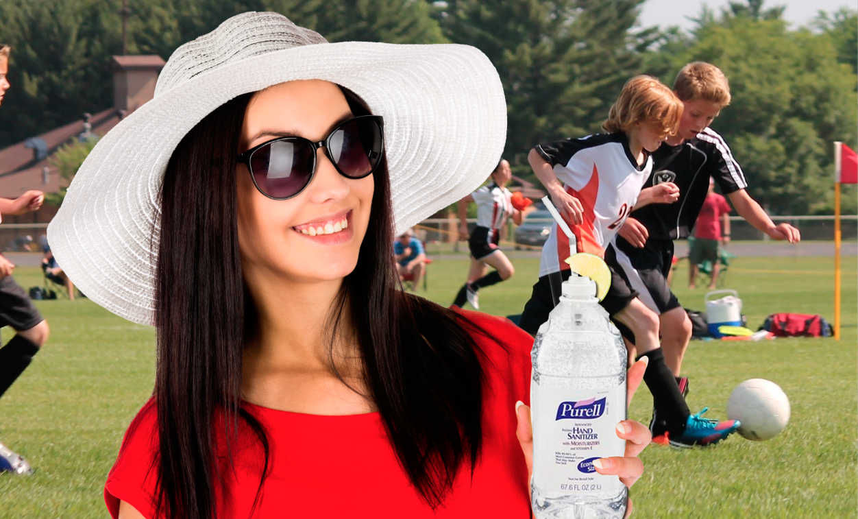 Soccer Moms Are Stocking Up on Purell to Take the Edge Off This Season