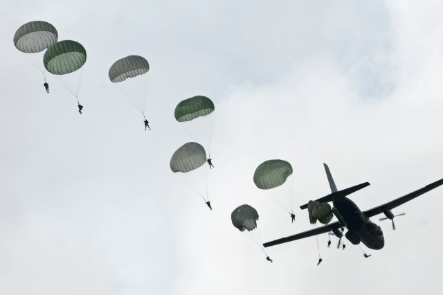 Elderly Paratroopers Forcibly Removed From Senior Living & Dropped over France for 75th Anniversary of D-Day