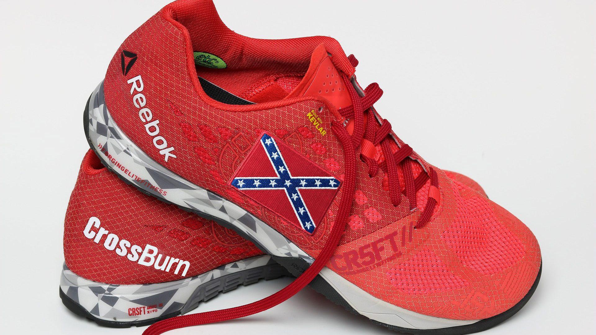 Confederate CrossBurn' Shoe