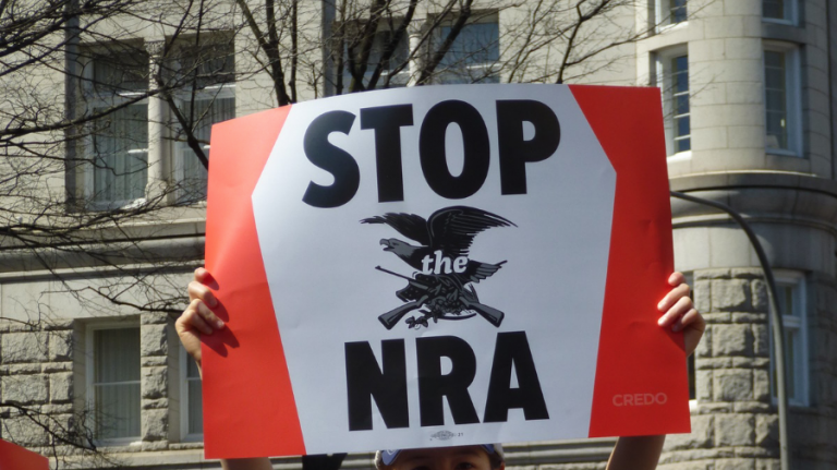 The left is demanding that the NRA denounce mass shootings, what do you think?