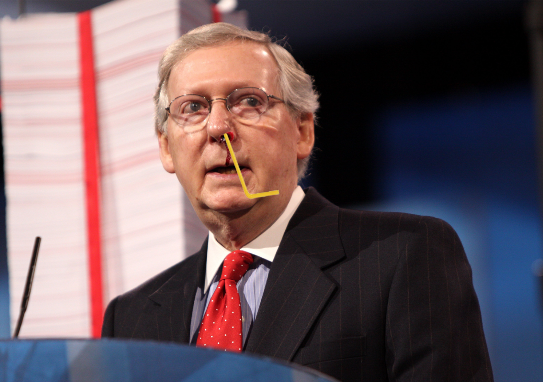 Authorities launch investigation after Mitch McConnell was mailed deadly plastic bags and straws