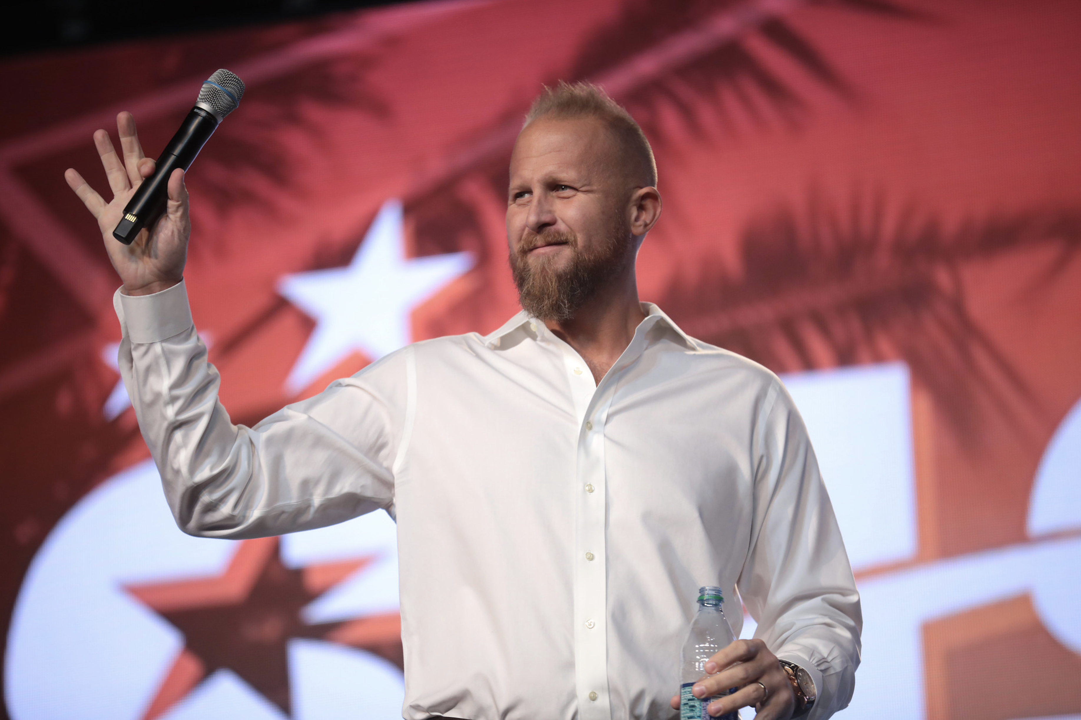 Brad Parscale Demoted From Campaign Manager to Guy Who Hands Glass of Water to Trump When He Wants to Prove He Knows How to Drink Water