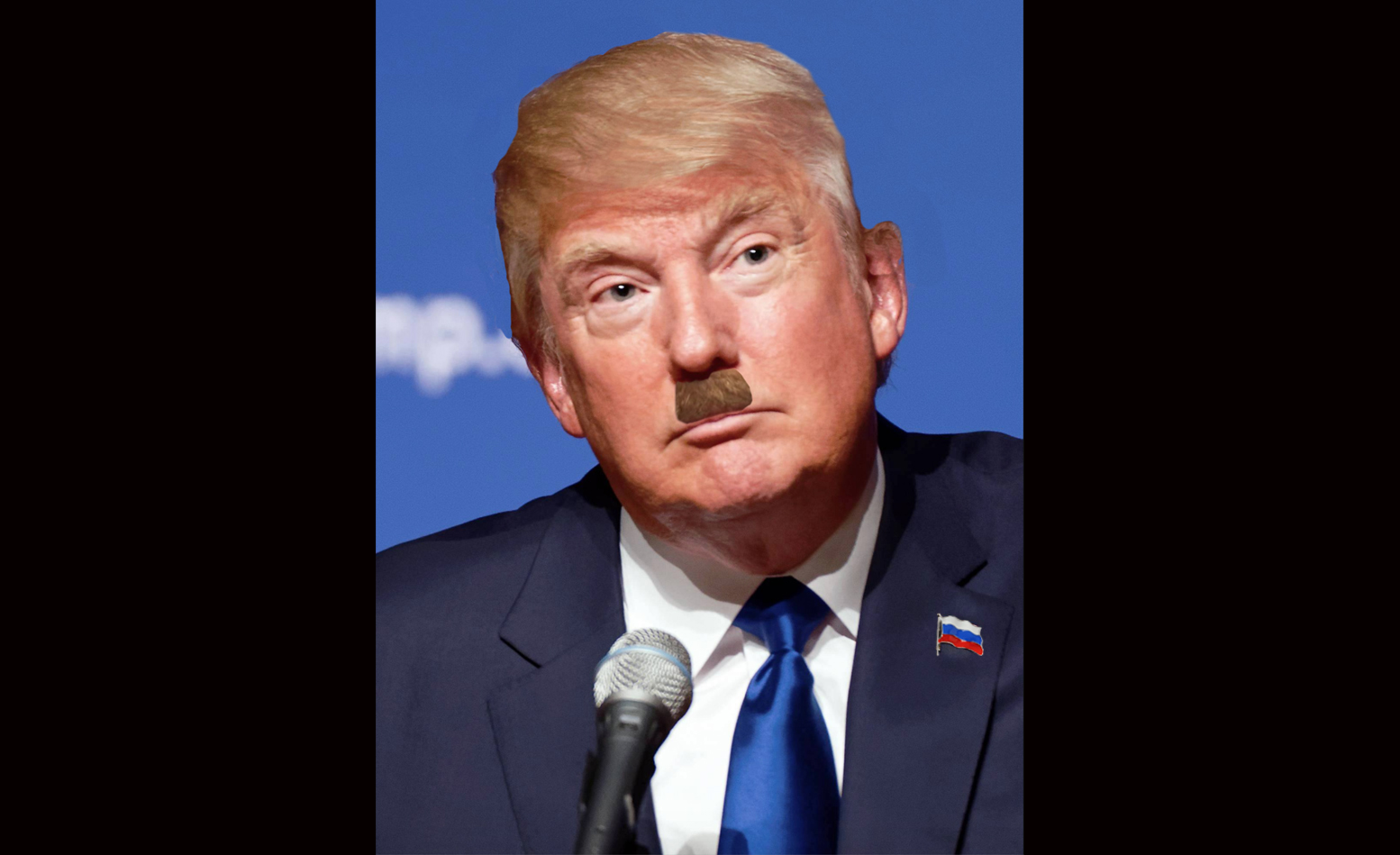 Donald Trump Haircut Mustache for RNC