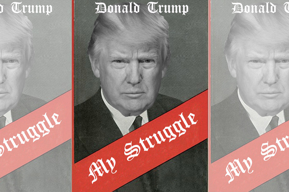 Donald Trump Releases Book Titled My Struggle Banned in Germany