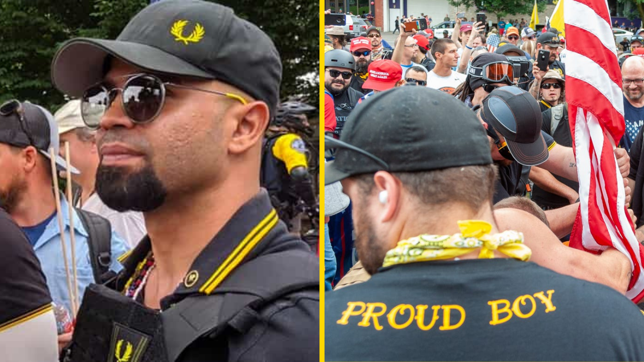 Proud Boys Shocked Afro-Cuban Leader is Informant