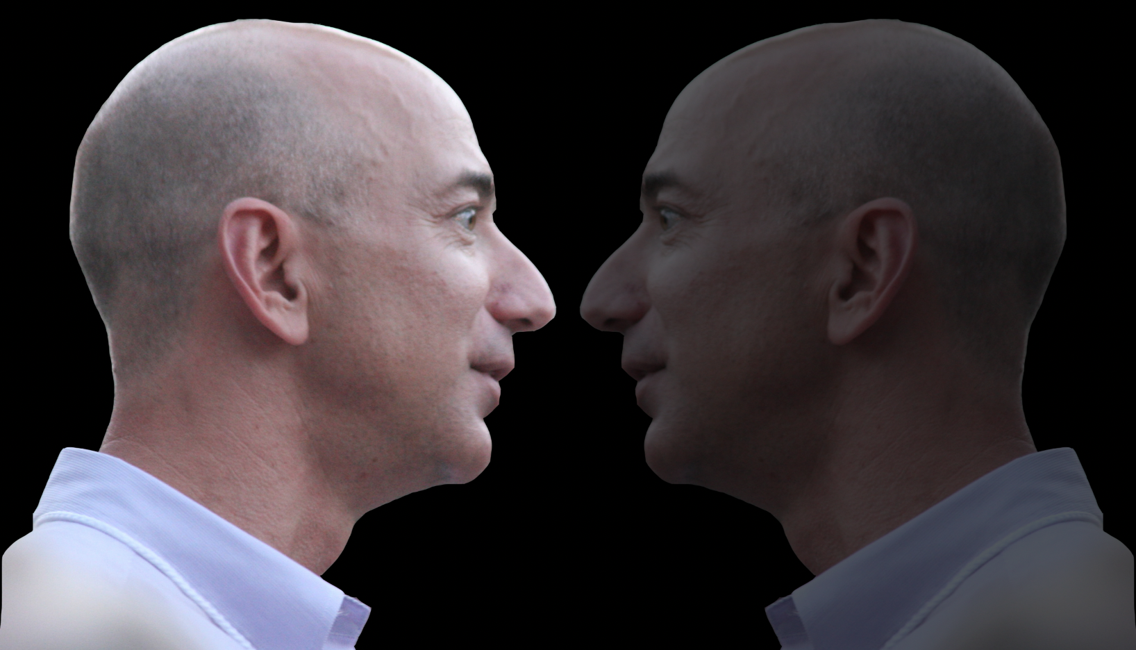 do i really need another 10 billion jeff bezos grins laughs maniacally in mirror