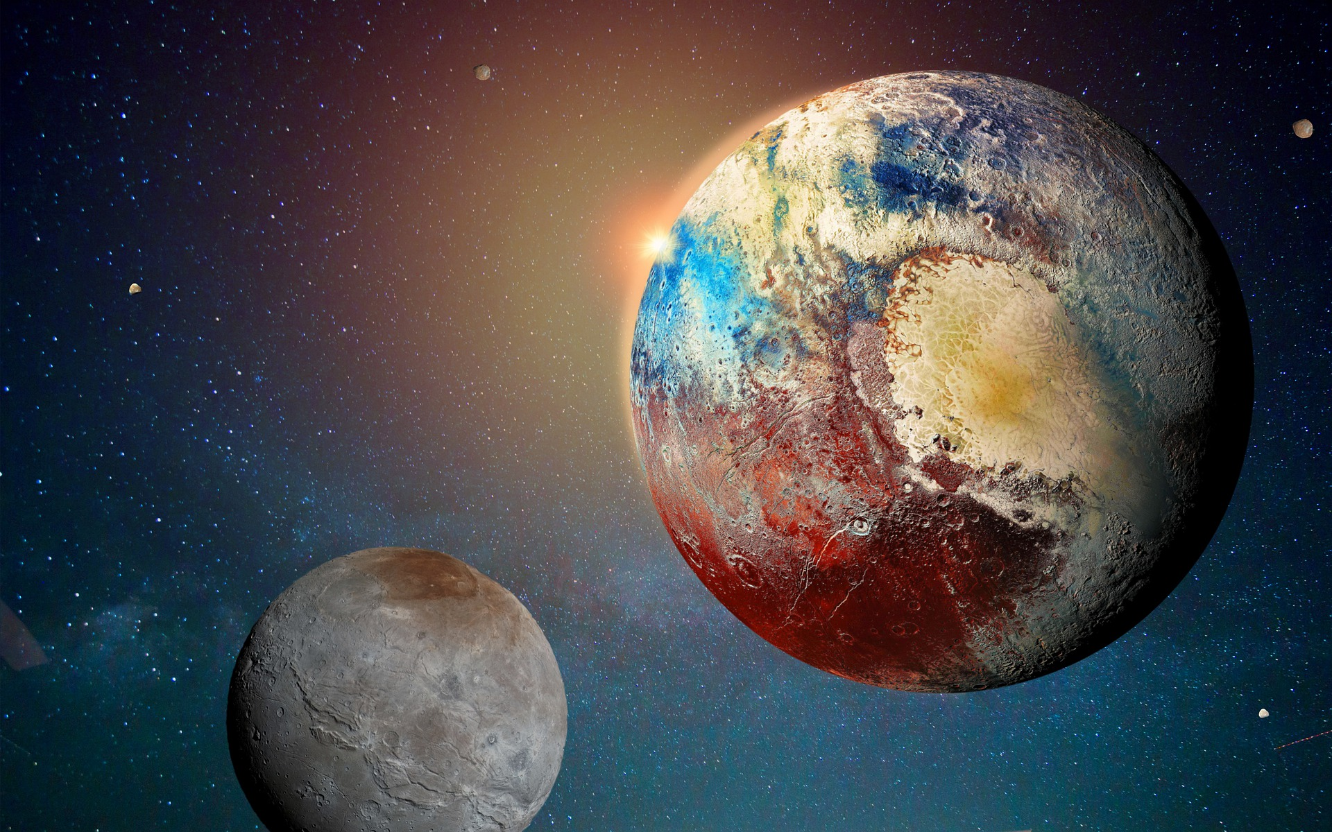 clearly depressed pluto has yet to complete a single orbit since demotion to dwarf planet