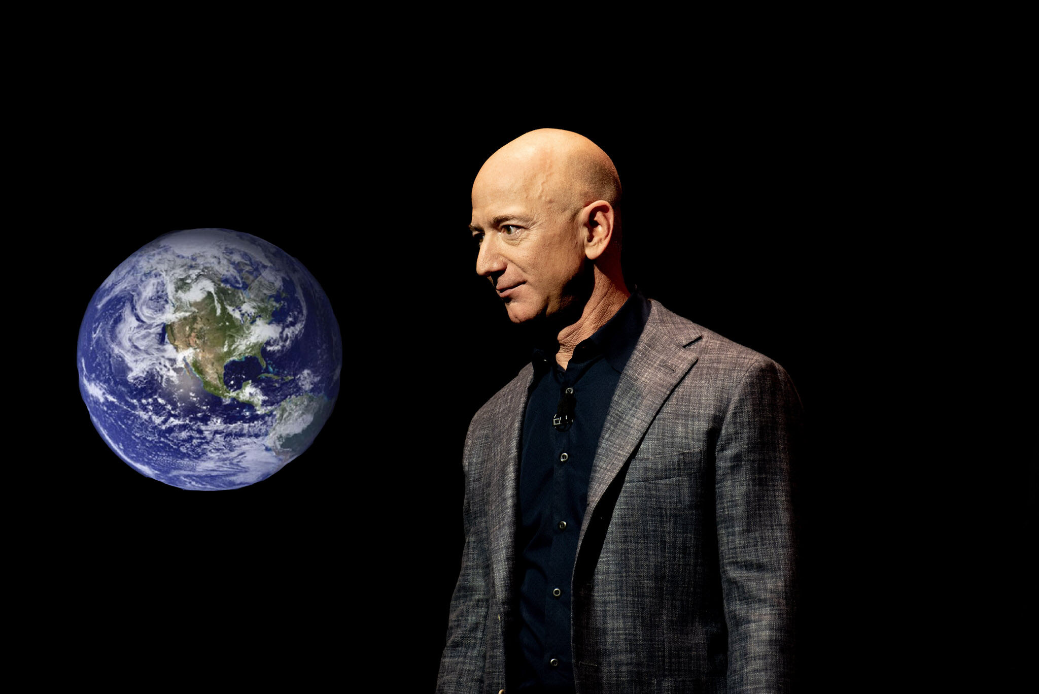 Jeff Bezos Going To Space To Get A Better Look At Earth Before Potentially Buying It